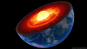 Nếu nhân Trái Đất nguội đi, từ trường không còn, bầu khí quyển cũng sẽ biến mất.Ảnh: Alamy